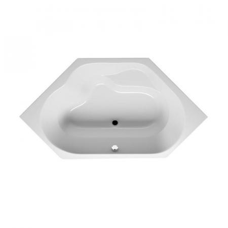 Riho Winnipeg Plug & Play Wanna narożna symetryczna 145x145 cm z siedziskiem biała BD73005
