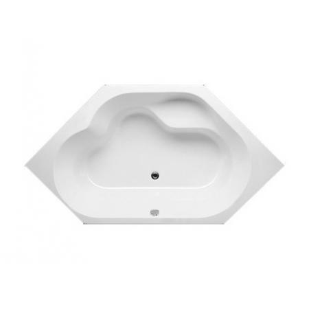 Riho Winnipeg Wanna sześciokątna z systemem hydromasażu FLOW prawa 145x145 cm akrylowa, biała BA48