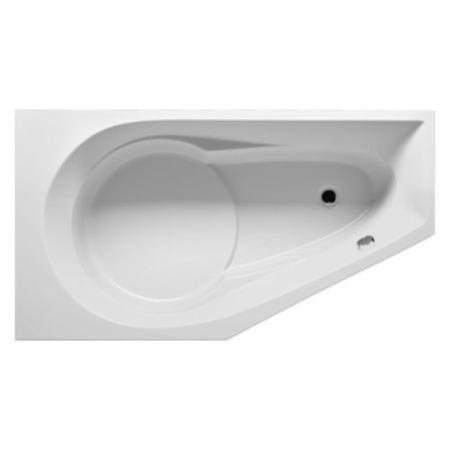 Riho Yukon Plug & Play Wanna asymetryczna narożna prawa 160x90 cm biała BD74005