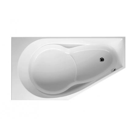 Riho Yukon Wanna narożna asymetryczna 160x90 cm akrylowa prawa, biała BA34