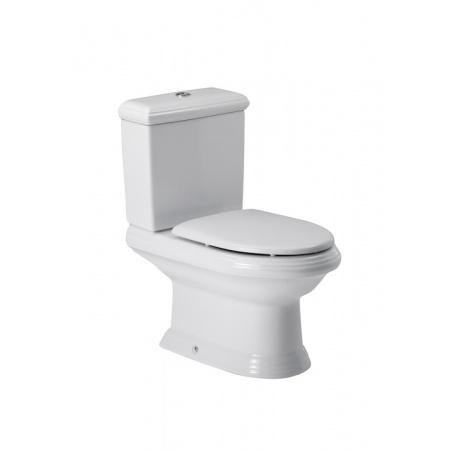 Roca America Toaleta WC kompaktowa 40,5x70,5x77,5 cm odpływ podwójny z powłoką MaxiClean, biała A34249700M
