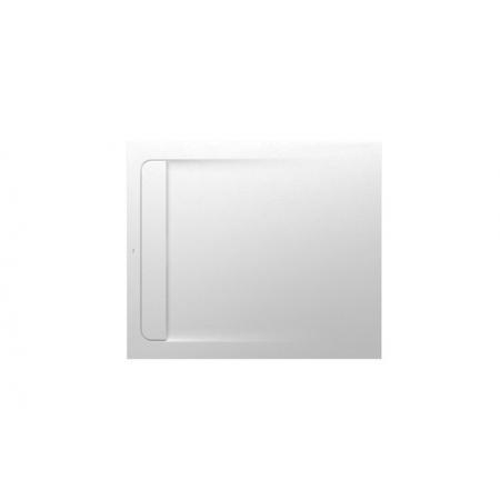 Roca Aquos Brodzik prostokątny 100x80x2,8 cm kompozytowy biały AP6013E832001100