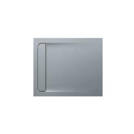 Roca Aquos Brodzik prostokątny 100x80x2,8 cm kompozytowy szary cement AP6013E832001300
