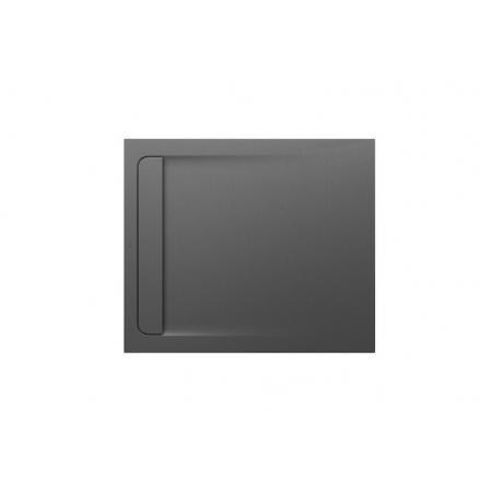 Roca Aquos Brodzik prostokątny 100x80x2,8 cm kompozytowy szary łupek AP6013E832001200