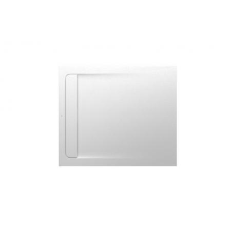 Roca Aquos Brodzik prostokątny 100x90x2,8 cm kompozytowy biały AP6013E838401100