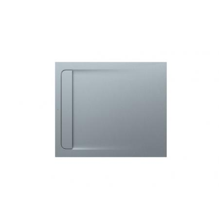 Roca Aquos Brodzik prostokątny 100x90x2,8 cm kompozytowy szary cement AP6013E838401300