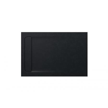 Roca Aquos Brodzik prostokątny 120x80x2,8 cm kompozytowy czarny AP6014B032001400
