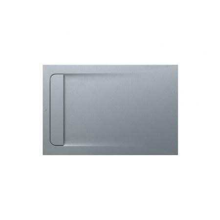 Roca Aquos Brodzik prostokątny 120x80x2,8 cm kompozytowy szary cement AP6014B032001300