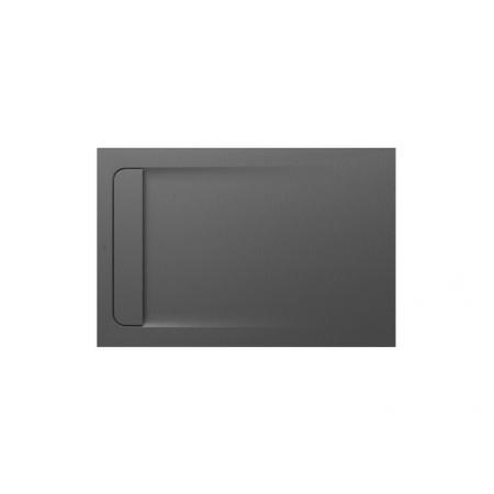 Roca Aquos Brodzik prostokątny 120x80x2,8 cm kompozytowy szary łupek AP6014B032001200