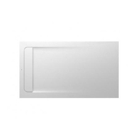Roca Aquos Brodzik prostokątny 140x80x3,1 cm kompozytowy biały AP60157832001100