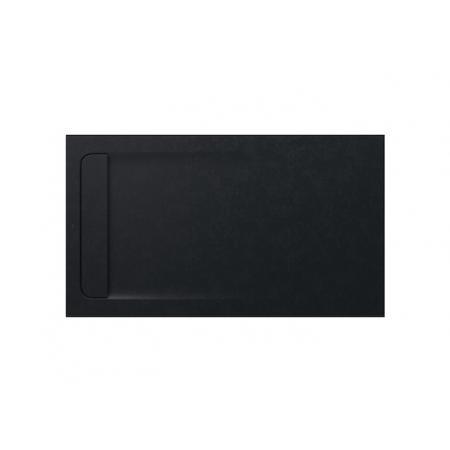 Roca Aquos Brodzik prostokątny 140x80x3,1 cm kompozytowy czarny AP60157832001400