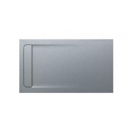 Roca Aquos Brodzik prostokątny 140x80x3,1 cm kompozytowy szary cement AP60157832001300