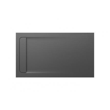 Roca Aquos Brodzik prostokątny 140x80x3,1 cm kompozytowy szary łupek AP60157832001200