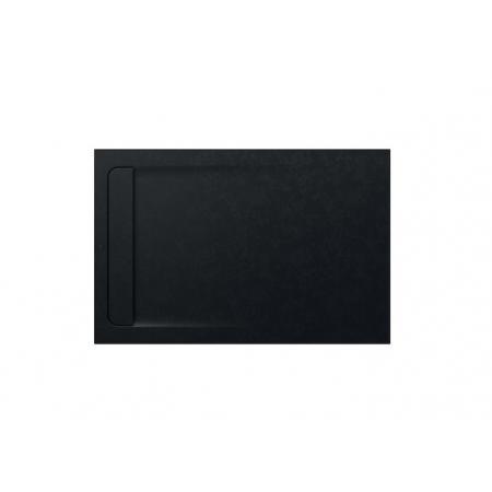 Roca Aquos Brodzik prostokątny 140x90x3,1 cm kompozytowy czarny AP60157838401400