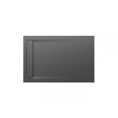 Roca Aquos Brodzik prostokątny 140x90x3,1 cm kompozytowy szary cement AP60157838401300
