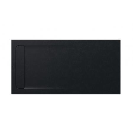 Roca Aquos Brodzik prostokątny 160x80x3,1 cm kompozytowy czarny AP60164032001400