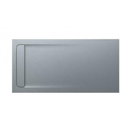 Roca Aquos Brodzik prostokątny 160x80x3,1 cm kompozytowy szary cement AP60164032001300