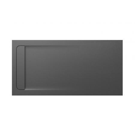 Roca Aquos Brodzik prostokątny 160x80x3,1 cm kompozytowy szary łupek AP60164032001200