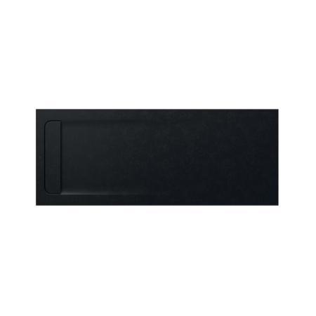 Roca Aquos Brodzik prostokątny 180x80x3,3 cm kompozytowy czarny AP60170832001400