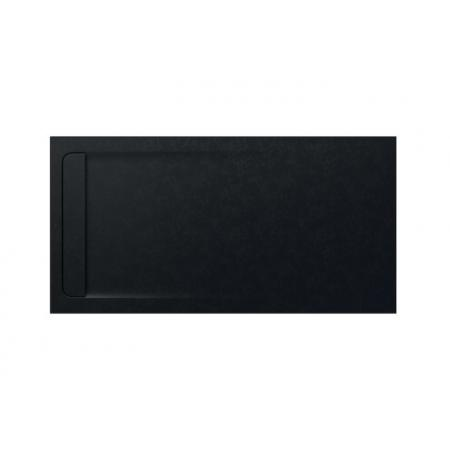 Roca Aquos Brodzik prostokątny 180x90x3,3 cm kompozytowy czarny AP60170838401400