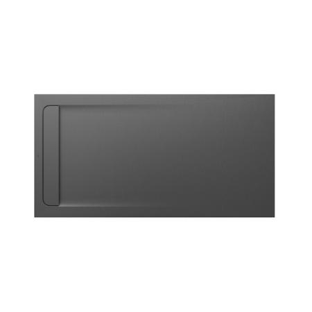 Roca Aquos Brodzik prostokątny 180x90x3,3 cm kompozytowy szary łupek AP60170838401200