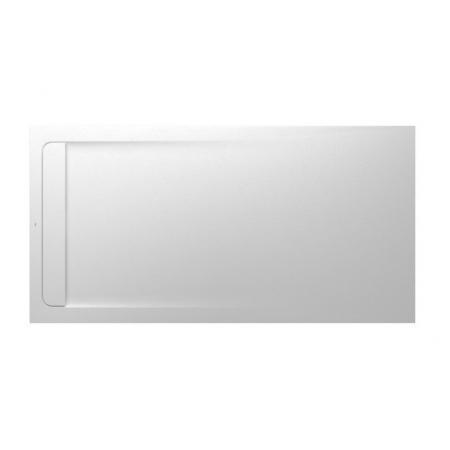 Roca Aquos Brodzik prostokątny 200x100x3,5 cm kompozytowy biały AP6017D03E801100