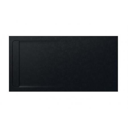 Roca Aquos Brodzik prostokątny 200x100x3,5 cm kompozytowy czarny AP6017D03E801400
