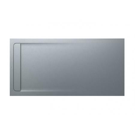 Roca Aquos Brodzik prostokątny 200x100x3,5 cm kompozytowy szary cement AP6017D03E801300