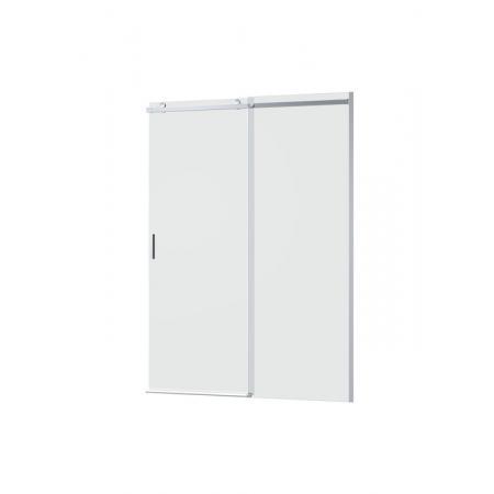 Roca Area Drzwi prysznicowe przesuwne do ścianki bocznej 140x200 cm z powłoką MaxiClean, wersja prawa, profile srebrne polerowane szkło przejrzyste AMP05R4012M