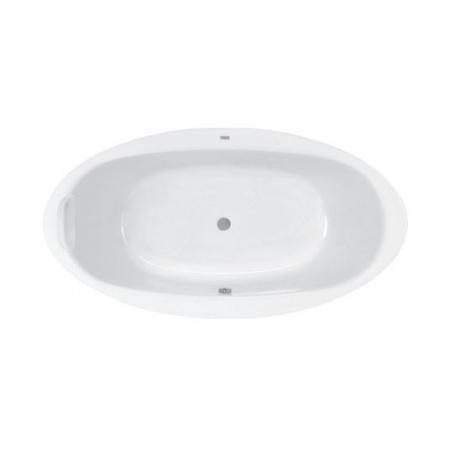 Roca Aura Wanna owalna 190x100x46,5 cm akrylowa, biała A24T263000