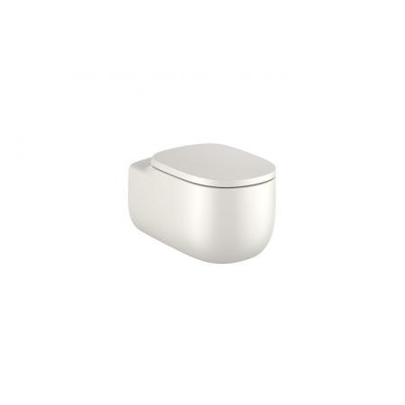 Roca Beyond Toaleta WC podwieszana 58x39,5 cm Rimless bez kołnierza beżowa A3460B7650