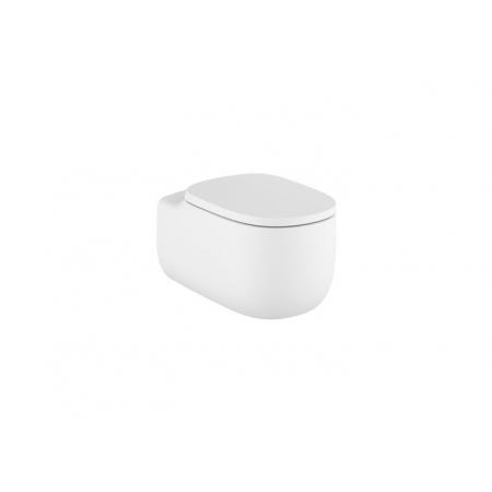 Roca Beyond Toaleta WC podwieszana 58x39,5 cm Rimless bez kołnierza biały mat A3460B7620