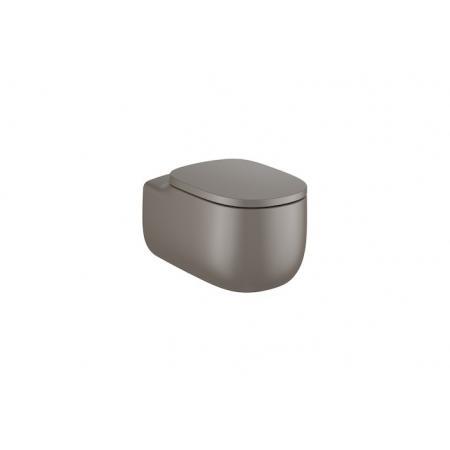 Roca Beyond Toaleta WC podwieszana 58x39,5 cm Rimless bez kołnierza kawowa A3460B7660