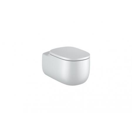 Roca Beyond Toaleta WC podwieszana 58x39,5 cm Rimless bez kołnierza perłowa A3460B7630