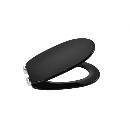 Roca Carmen Black Deska wolnoopadająca czarny połysk A801B5256B
