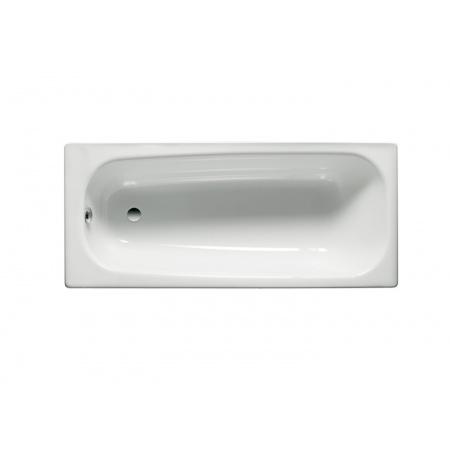 Roca Contesa Wanna prostokątna 120x70x41,5 cm stalowa, biała A212106001