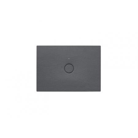 Roca Cratos Brodzik prostokątny 100x70x3,5 cm ceramiczny onyks A3740L9640