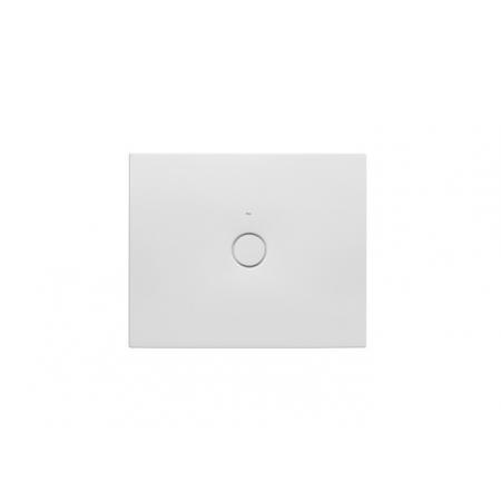 Roca Cratos Brodzik prostokątny 100x80x3,5 cm ceramiczny biały matowy A3740L8620