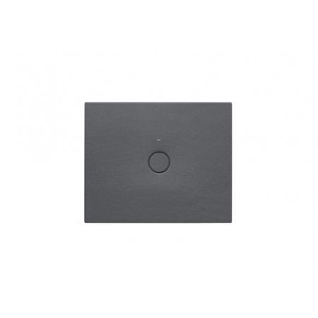 Roca Cratos Brodzik prostokątny 100x80x3,5 cm ceramiczny onyks A3740L8640