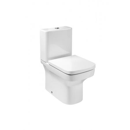 Roca Dama-N Toaleta WC kompaktowa 36,5x60x76 cm Compacto odpływ podwójny z powłoką MaxiClean, biała A34278W00M