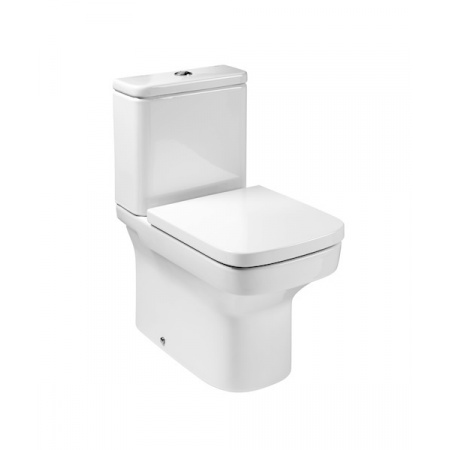 Roca Dama-N Toaleta WC kompaktowa 60x36,5 cm Rimless bez kołnierza, biała A34278L000