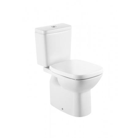 Roca Debba Toaleta WC kompaktowa 35,5x65,5x76 cm odpływ pionowy, biała A342998000
