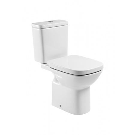 Roca Debba Toaleta WC kompaktowa 35,5x65,5x76 cm odpływ poziomy, biała A342997000