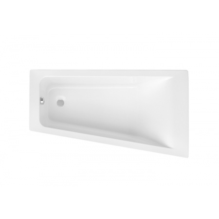 Roca Easy Wanna narożna asymetryczna 160x90x40,6 cm akrylowa prawa, biała A248410000