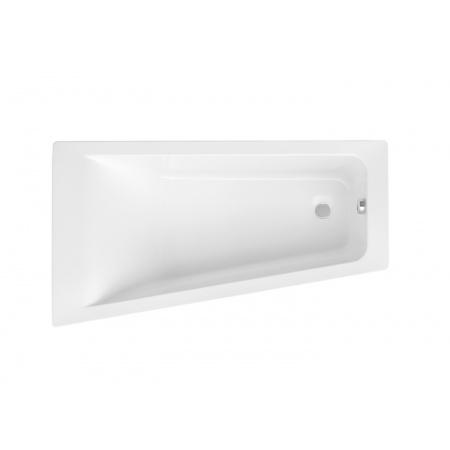 Roca Easy Wanna narożna asymetryczna 150x80x40,6 cm akrylowa lewa, biała A248407000