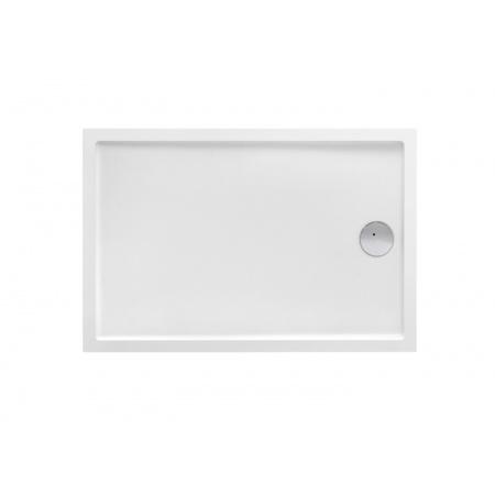 Roca Granada Medio Brodzik prostokątny 100x80x7,5 cm akrylowy, biały A27T006000