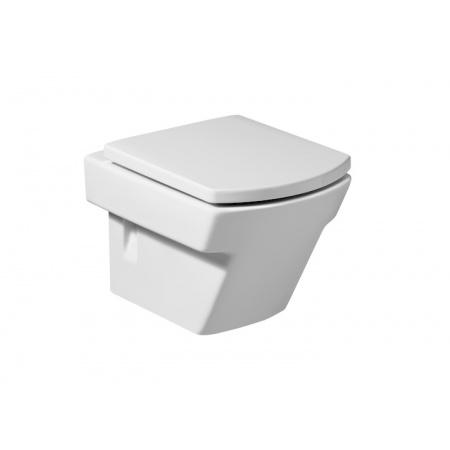 Roca Hall Toaleta WC podwieszana 35,5x50x40 cm Compacto z powłoką MaxiClean, biała A34662700M