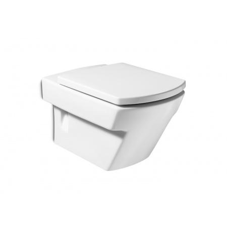 Roca Hall Toaleta WC podwieszana 35,5x56x40 cm z powłoką MaxiClean, biała A34662E00M