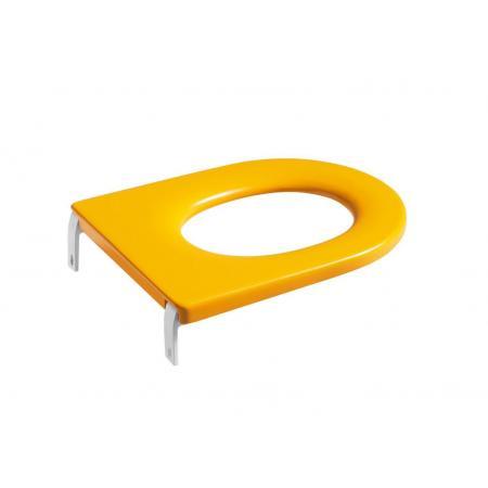 Roca Happening Baby Siedzisko do toalety WC dla dzieci żółte A801116714