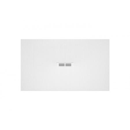Roca Helios Brodzik prostokątny 100x80x2,5 cm kompozytowy, biały AP2013E83200110P
